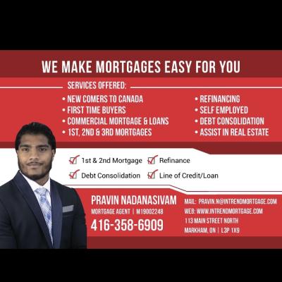 Pravin Nadansivam Mortgage Agent